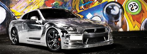 Chrom Auto by Transform Your Car With A Chrome Car Wrap From Totally Dynamic