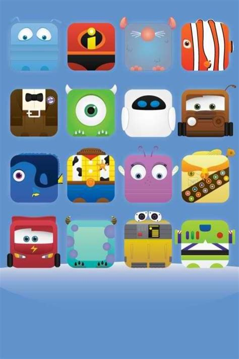 iphone themes disney disney pixar characters iphone wallpaper iphone