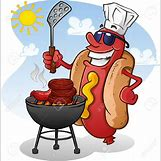 Grilled Hot Dogs Clip Art | 1283 x 1300 jpeg 176kB