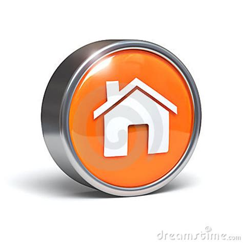 home 3d button royalty free stock image image 19182936