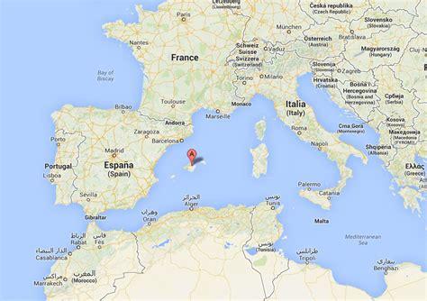 mallorca world map majorca meeting melanoma
