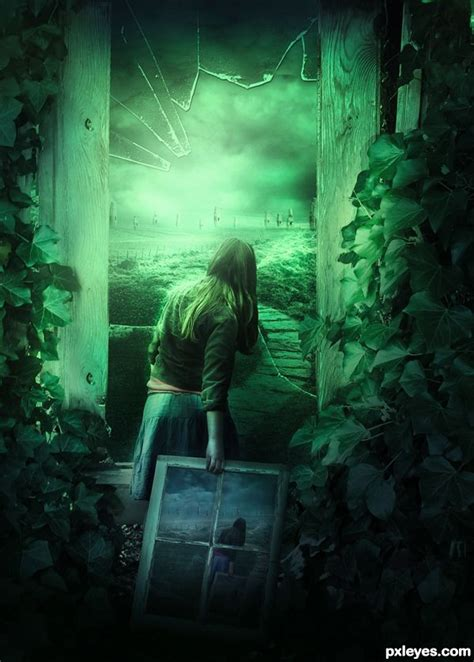 tutorial photoshop fantasy create a dark fantasy manipulation of a broken girl