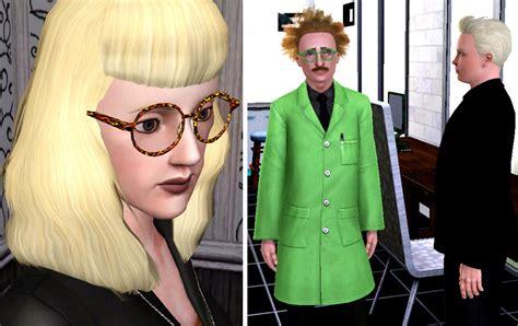 mod  sims big  glasses  men  women teen  elder update childrens version added