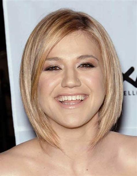 blonde bob round face short haircuts for straight hair and round faces the