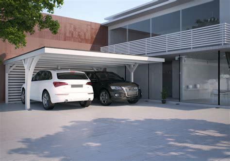 geschlossenes carport carport mit ger 228 teraum praktische und innovative l 246 sung