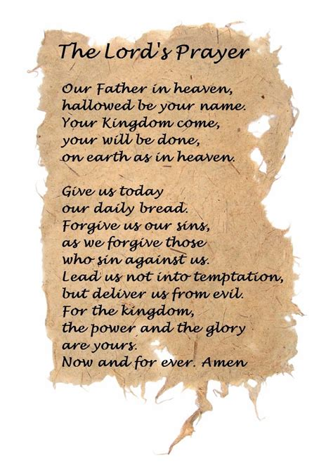 all saints the lords prayer