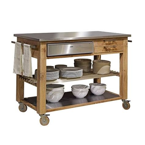 kitchen trolley ideas 1000 ideas about butchers block trolley on