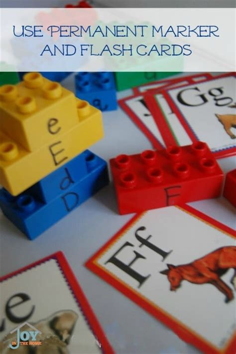 how to teach the alphabet with legos joy in the home