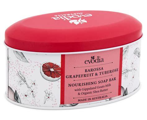 Unwind Evodia evodia nourishing soap bar barossa grapefruit tuberose