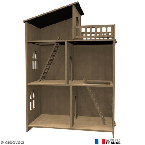 maison a decorer kit maison de poup 233 e en bois 224 d 233 corer meuble miniature