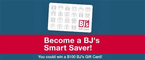 Smart Saver Set 18 bj s smart saver 100 gift card giveaway weekly drawings 1 1 17 ultd18 sweeties sweepstakes