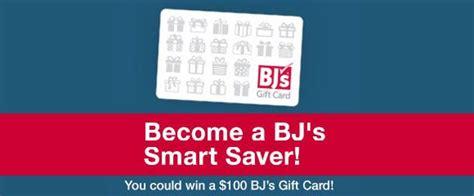 Smart Saver Set 18 bj s smart saver 100 gift card giveaway weekly drawings