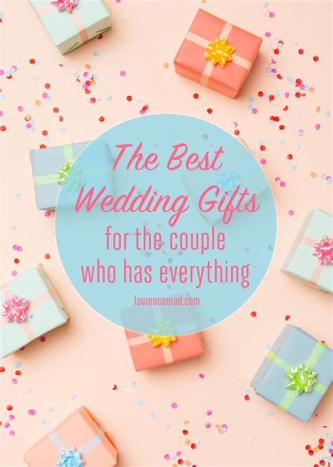 Gift For Couples With Everything - wedding bells what to give the who has everything