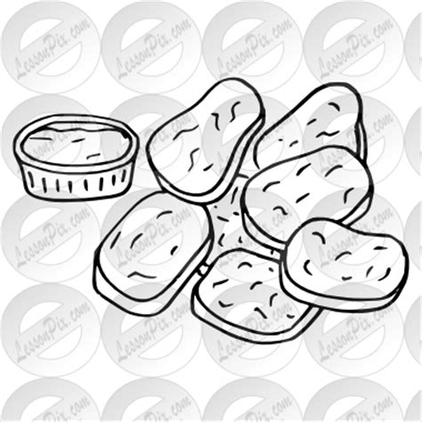 coloring pages chicken nuggets clip art chicken fingers clipart clipart suggest