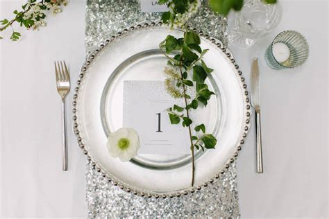 silver glitter table runner sequin table runner by magpie decor notonthehighstreet com