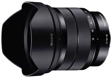 Sony E 10 18mm F4 Oss Resmi Pt Sony Indonesia sony e 10 18mm f4 oss digital photography review
