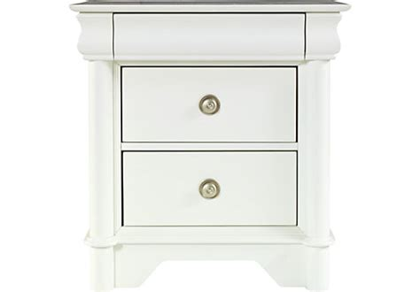 oberon white nightstand nightstands
