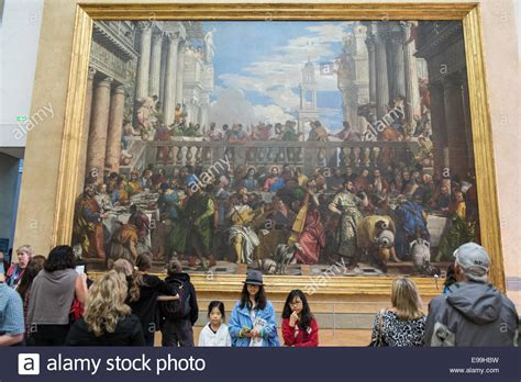 Wedding At Cana Painting In The Louvre by Painting Quot The Wedding Feast At Cana Quot By Veronese On