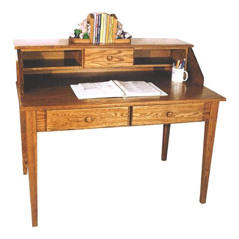 Amish Desk by Shaker Paymaster Desk From Dutchcrafters Amish Furniture