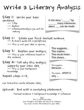How To Write A Critical Essay On Literature by Paragraph And Writing On