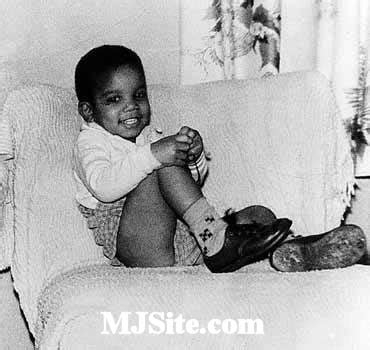 michael jackson when he was a young boy