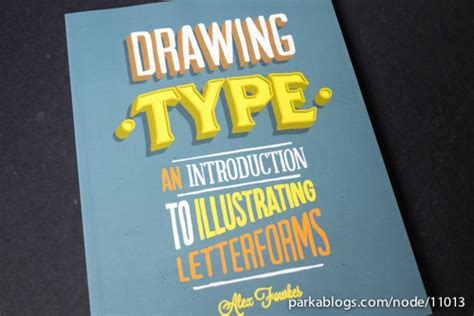 libro drawing type an introduction typography parka blogs