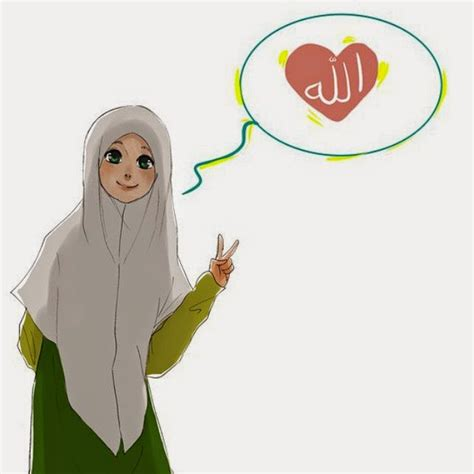 Animasi Jilbab Syar I kumpulan dp bbm gambar muslimah berhijab syar i keindahan