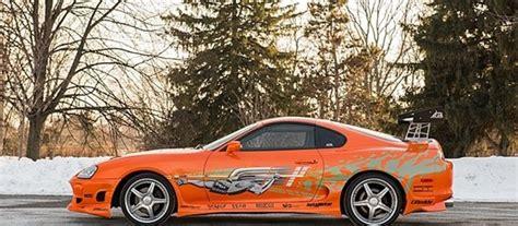 Orange Toyota Supra For Sale Paul Walker S Fast And Furious Orange Toyota Supra For