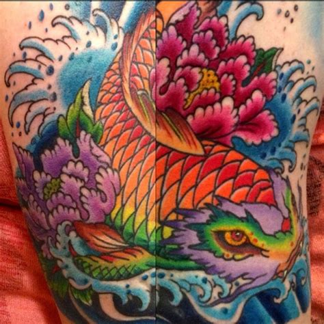 tattoo koi fish turning into dragon 176 best koi tattoos and art images on pinterest fish