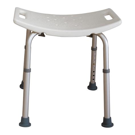 white shower bench essential medical adjustable white shower bench shower