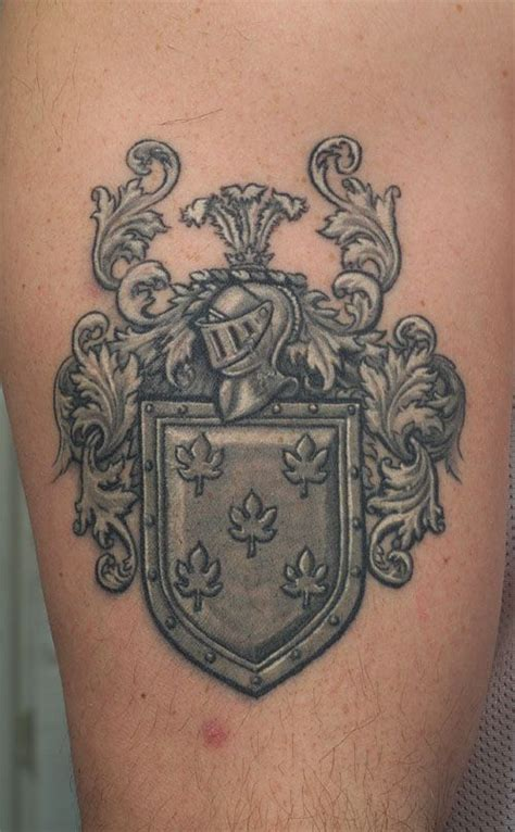 tattoo family crest coat of arms tattoos i like pinterest coats and coat