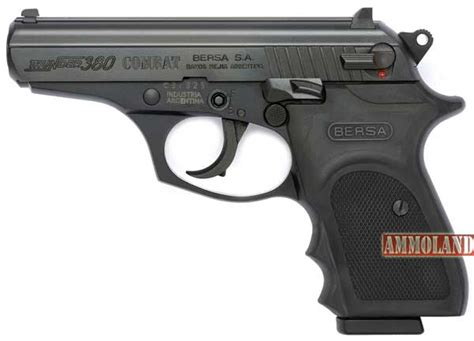 Target Home Design Reviews by Bersa Thunder 380 Combat Pistol From Eagle Imports