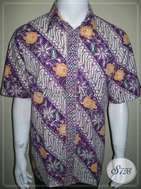 Kemeja Printing Motif Pohon Pria Lengan Pendek Murah busana batik pria model dan motif terbaru kemeja batik