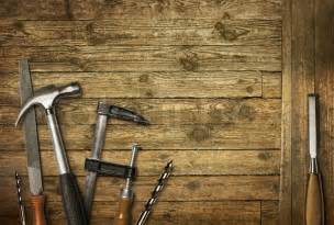carpentry tools old wood stock photo colourbox