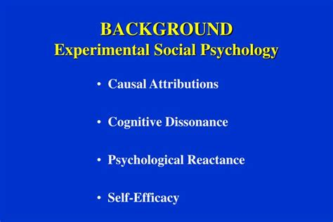social psychology self presentation ppt motivational interviewing theory treatment