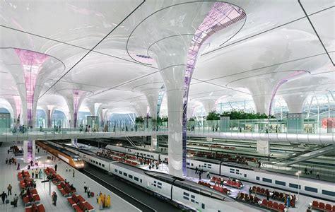 design concept delhi striking design brings india s new delhi station into the