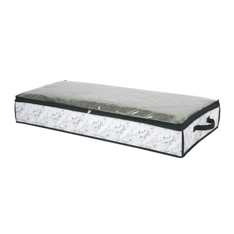 home depot under bed storage simplify 40 in x 18 in x 6 under the bed storage bag in
