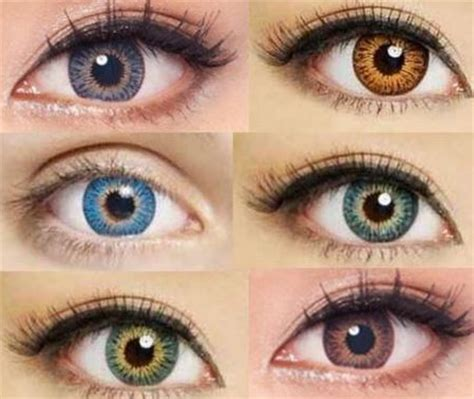 choosing the best coloured contact lens to match your skin