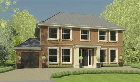 Structural Design New Build House Surrey Kmass