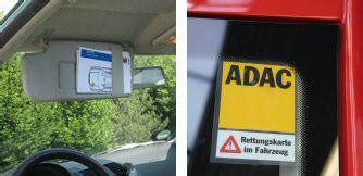 Kfz Rettungskarte Aufkleber by Rettungskarten F 252 R Kfz