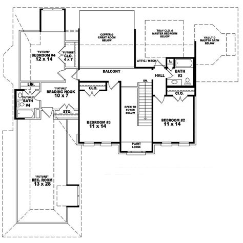 georgian style floor plans huppert georgian style home plan 087d 1623 house plans