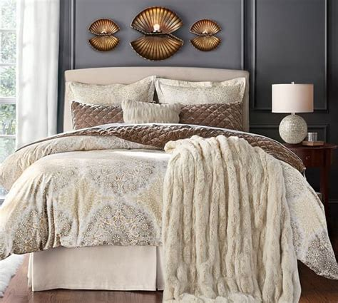 Slipcovered Headboards by Lewis Slipcovered Headboard Pottery Barn