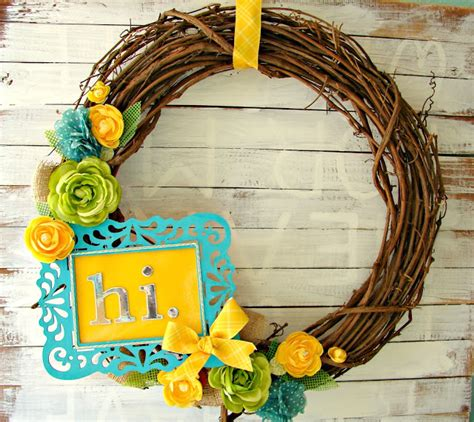 whimsical spring forsythia wreath jenna burger 15 delightful diy spring wreaths tauni co