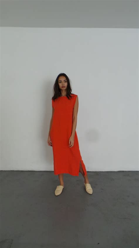 Maxi Ilana ilana kohn kate maxi persimmon garmentory