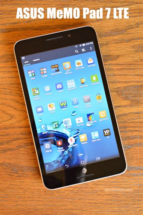 Tablet Asus Lte asus memo pad 7 lte a great value tablet for the whole