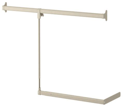 ikea wardrobe rail komplement add on clothes rail contemporary closet
