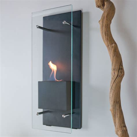 Ethanol Burning Fireplaces cannello wall mounted ethanol burning fireplace