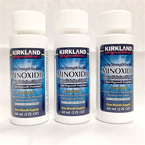 3 Btl Kirkland Minoxidil 5 1 Btl Natrol Biotin 10000mcg 100 Tablet 1 equate hair regrowth treatment for with minoxidil 5 st health and