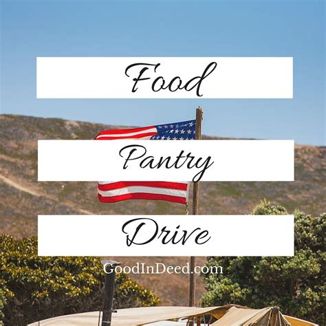 Food Pantry Orange County by Food Collection Drive For Local Food Pantry In Deed