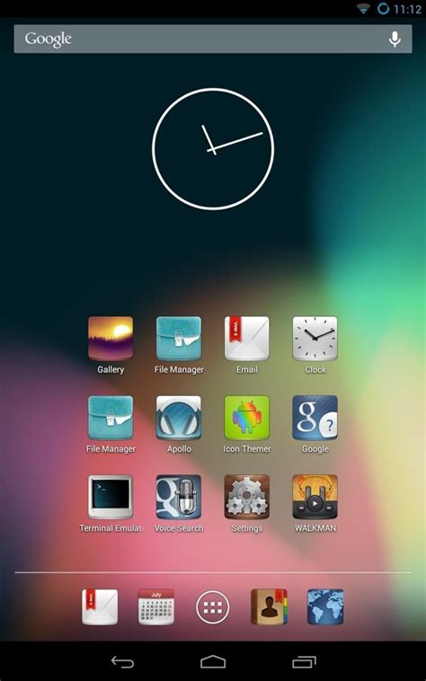 free themes for android how to customize the android app icons on your nexus 7 tablet with free themes 171 nexus 7